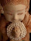 Stone doll Royalty Free Stock Photo