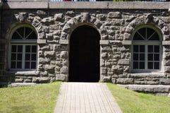 Stone doorway Stock Photography