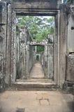 Stone doorways Royalty Free Stock Images