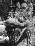 Stone Dragon Stock Images