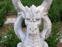 Stone Dragon Stock Images