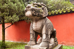 Stone dragon statue Stock Photos