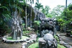 Stone dragon Royalty Free Stock Photo