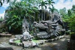 Stone dragon Stock Photo