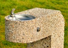 Stone Drinking Fountain Stock Photography