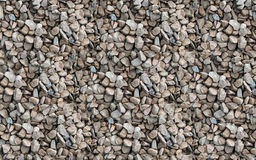 Stone dune mound of gray beige gravel industrial texture Royalty Free Stock Photo