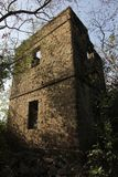 Stone dwelling with eerie feel Royalty Free Stock Photos