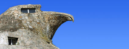 The Stone Eagle of Atlantida Royalty Free Stock Photo