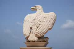 Stone eagle Royalty Free Stock Photography