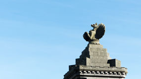 Stone Eagle statue Royalty Free Stock Photography