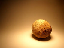 Stone egg. Egg from stone Royalty Free Stock Photo