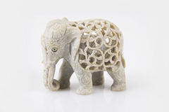 Stone Elephant Stock Photography