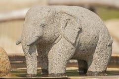 Stone elephant Royalty Free Stock Photography