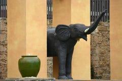 Stone elephant Stock Images