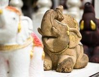 Stone elephant statue Stock Image