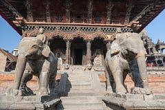 Stone elephant statue Stock Photos