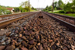 Railway track Rail Royalty Free Stock Photography