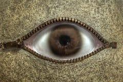 Stone Eye surreal sculpture