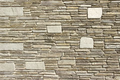 Stone facade Royalty Free Stock Images