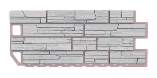 Stone facade panel Stock Photos