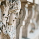 Stone face Royalty Free Stock Image