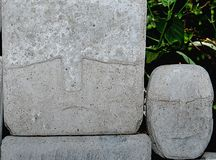 Stone Face Royalty Free Stock Photo
