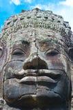 Stone face Stock Image