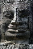 Stone face Stock Photography