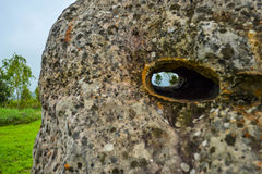 Stone face,The Amazing of Rock in National Park,Chaiyaphum Stock Image