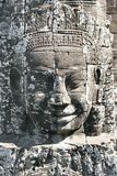 Stone face of angkor wat Stock Images