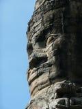 Stone face, Angkor Wat, Cambodia Stock Images