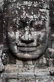 Stone Face in Bayon Temple, Angkor Wat Royalty Free Stock Photo