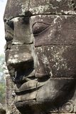 Stone Face Carvings Bayon Temple Royalty Free Stock Image