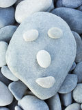 Stone face Royalty Free Stock Photography