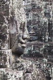 Stone Faces of the Temple Bayon Royalty Free Stock Photo