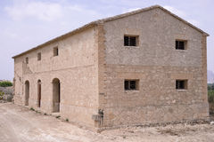Stone farm building in Spain Stock Photography