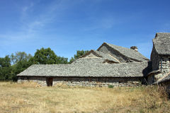 Stone farmhouse Stock Photo