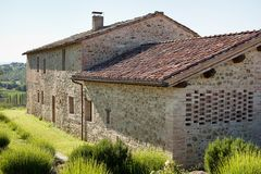 Stone Farmhouse Stock Image