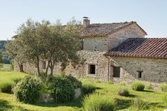 Stone Farmhouse Stock Photos