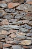 Stone Feature Wall. A close up shot of a stone feature wall Royalty Free Stock Image