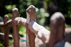 Stone Fence Stock Photo