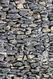 Stone Fence Detail Royalty Free Stock Photos