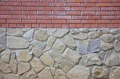 Stone fence Stock Image