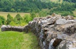 Stone fence Royalty Free Stock Photos