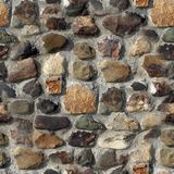 Stone fence- seamless texture. Natural seamless texture Stock Images