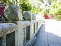 Stone fence Stock Photography