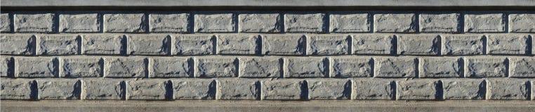 Stone fence texture Stock Photos