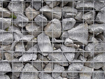 Stone fence texture Royalty Free Stock Images