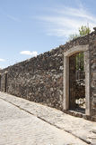 The Stone Fence Royalty Free Stock Photography