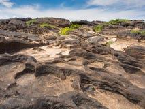 Stone Field at Sampanbok, Thailand Stock Image